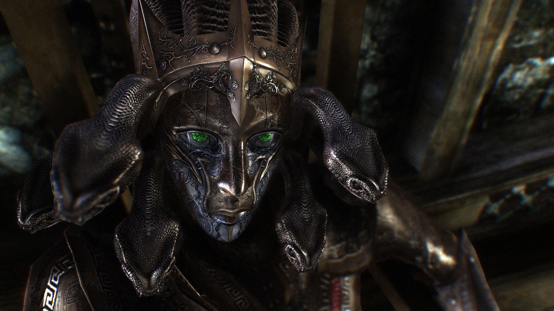 Medusa Armor In Skyrim by Zerofrust