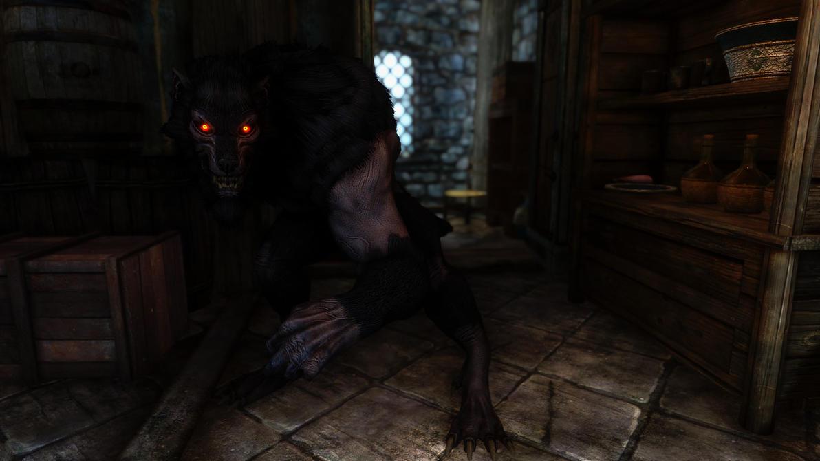 Demon werewolf skyrim - photo#5