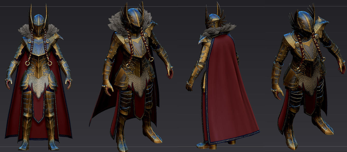 Valkyrie Armor for Skyrim 2 (WIP) by Zerofrust