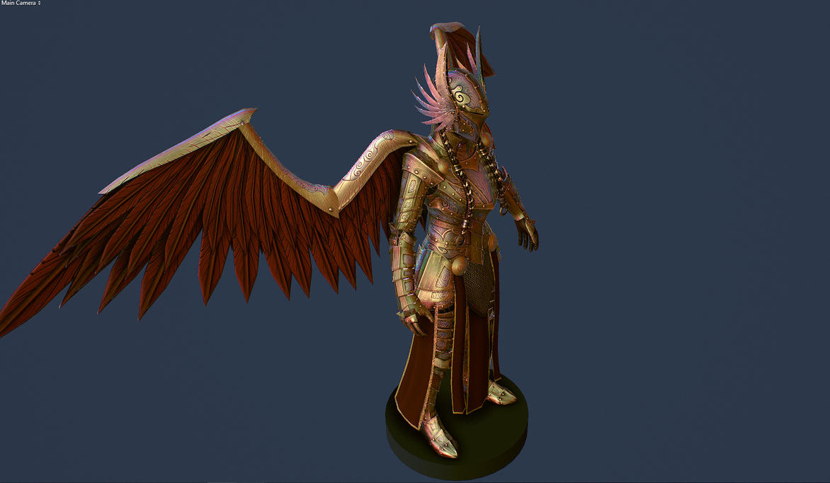 Winged Valkyrie Armor by Zerofrust