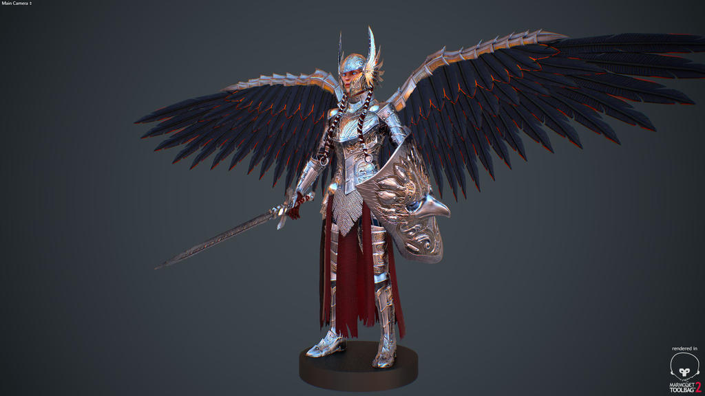 Valkyrie Armor Winged v2 by Zerofrust