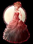 Lu w sukni balowej