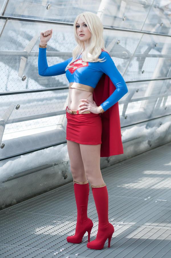 Supergirl by AzurBlueDragon