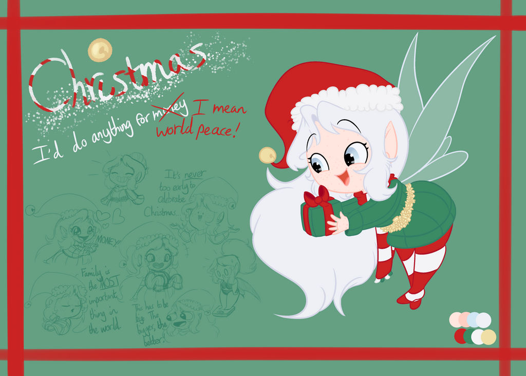 Anything Open On Christmas Day.Festive Fairies Christmas By Xx Dreamer By Day Xx On