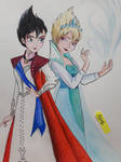 Frozen - Evil Elsa by Elveariel