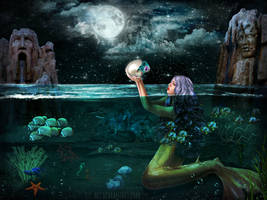 Way to Atlantis by ConnieLynnArt