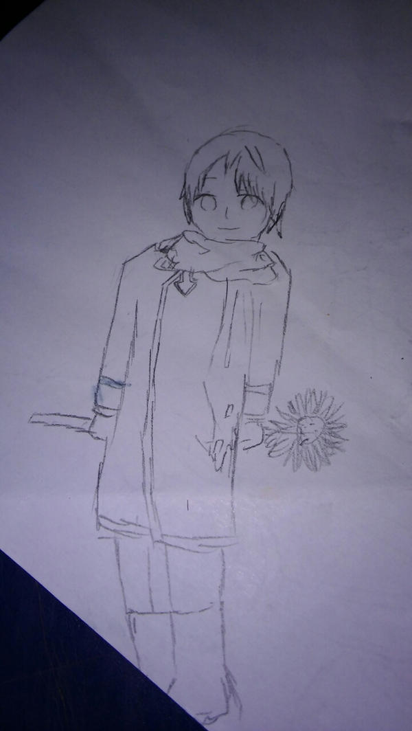 i tried drawing kid!aph russia by elicherry