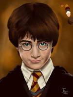 Harry Potter portrait (Y1) WIP