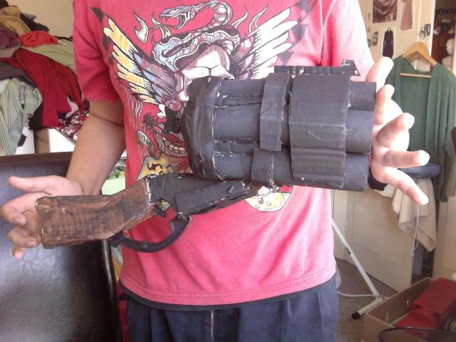 K 11 Gun Hellboy big baby gun by