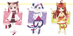 Adopts 26 - Kemonomimi [Closed]