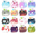 Cat Beans #1 - #16 [Closed] by Shiina-Yuki