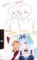 YCH | BFF! [CLOSED] by Shiina-Yuki