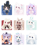 [OPEN 1/9] Daily Adoptable - Oct 12th ~ 20th