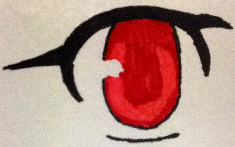 How To Draw A Simple Anime Eye By Freak 2000