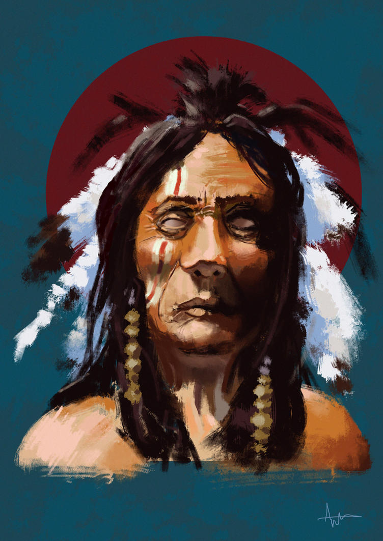 Native American by vincentee
