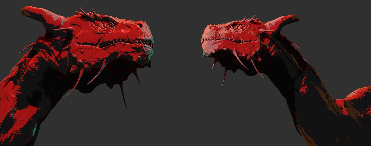 Dragon by vincentee