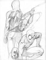 Spiderman by benjtendo