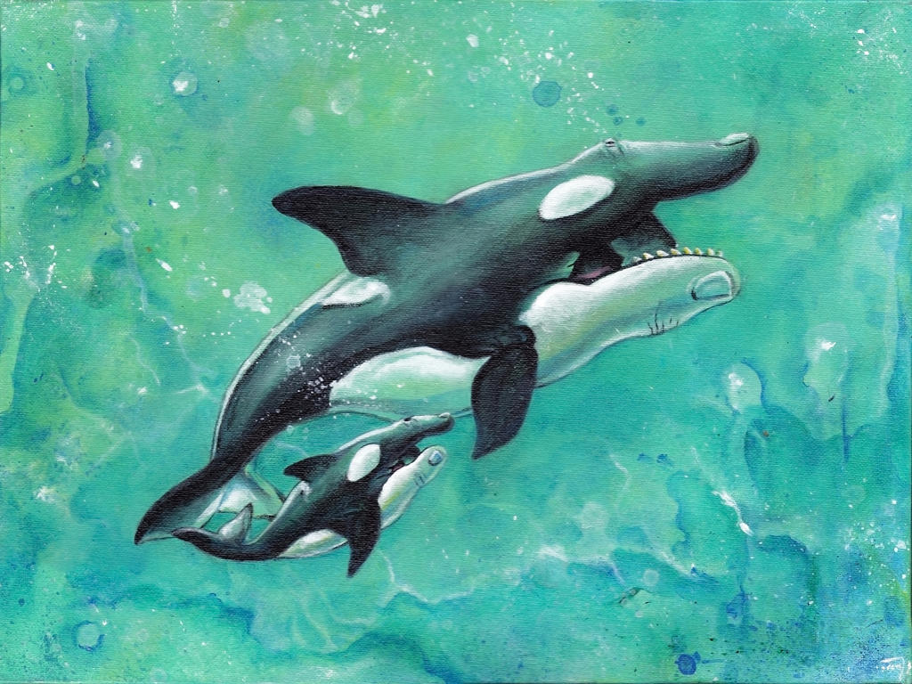 Orca Stration by bedowynn