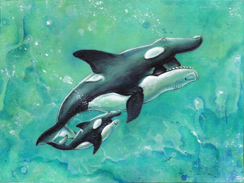 Orca Stration by bedowynn