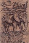 Zebraphant