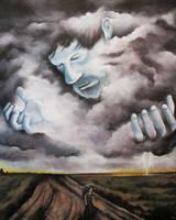 Self Portrait As A Storm Cloud by bedowynn