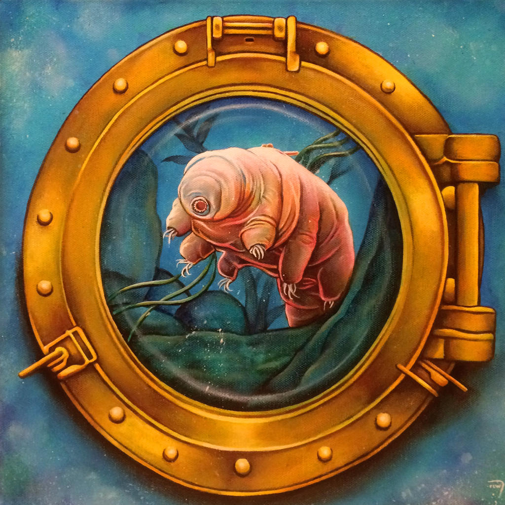 Tardigrade Tank by bedowynn