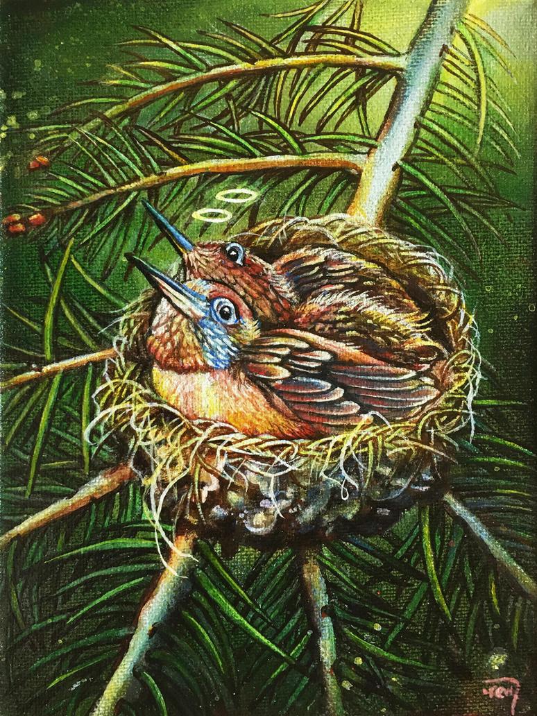 Angels' Nest by bedowynn