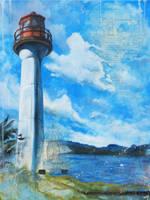 Mayne Lighthouse Card by bedowynn