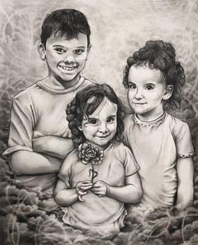 Bryan, Violet and Scarlett