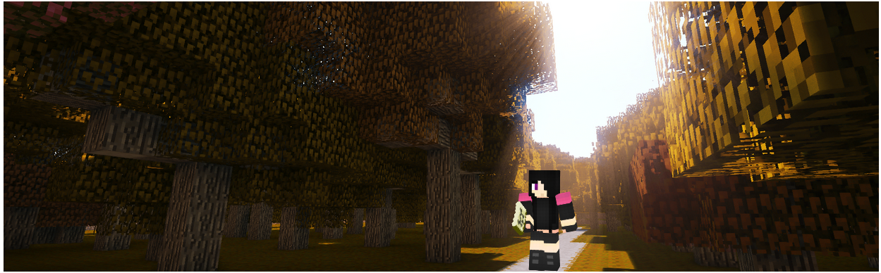 Andra Mian in the EnderForest by BeadGCF17