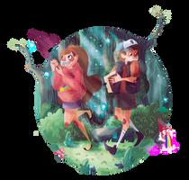 Gravity Falls by Jimmy-ilustra