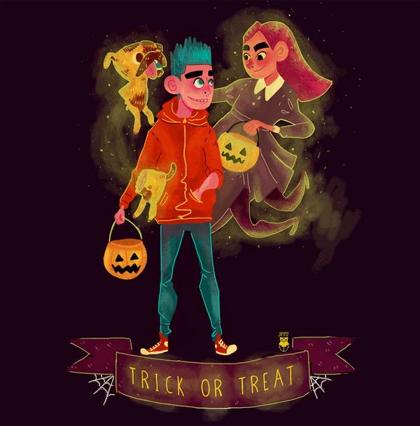 Happy Halloween Guys!! by Jimmy-ilustra