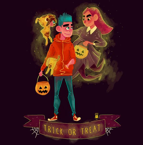 Happy Halloween Guys!! by Jimmy-ilustra