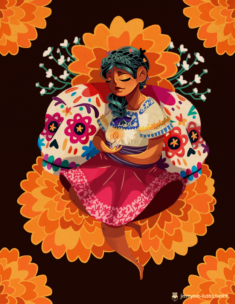 Dia de Muertos/Day of the Dead by Jimmy-ilustra
