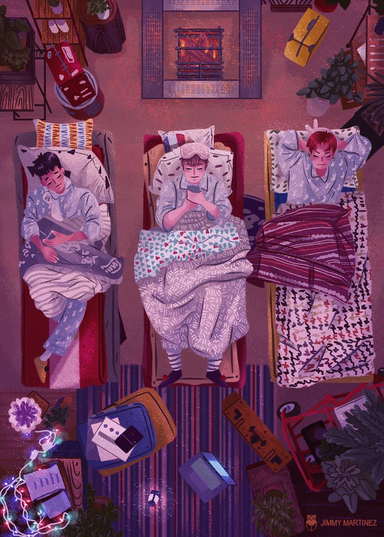 Night! Night! by Jimmy-ilustra