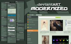 deviantART Modernized Beta 1 - Download!