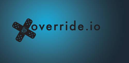 Override.io Logo Design