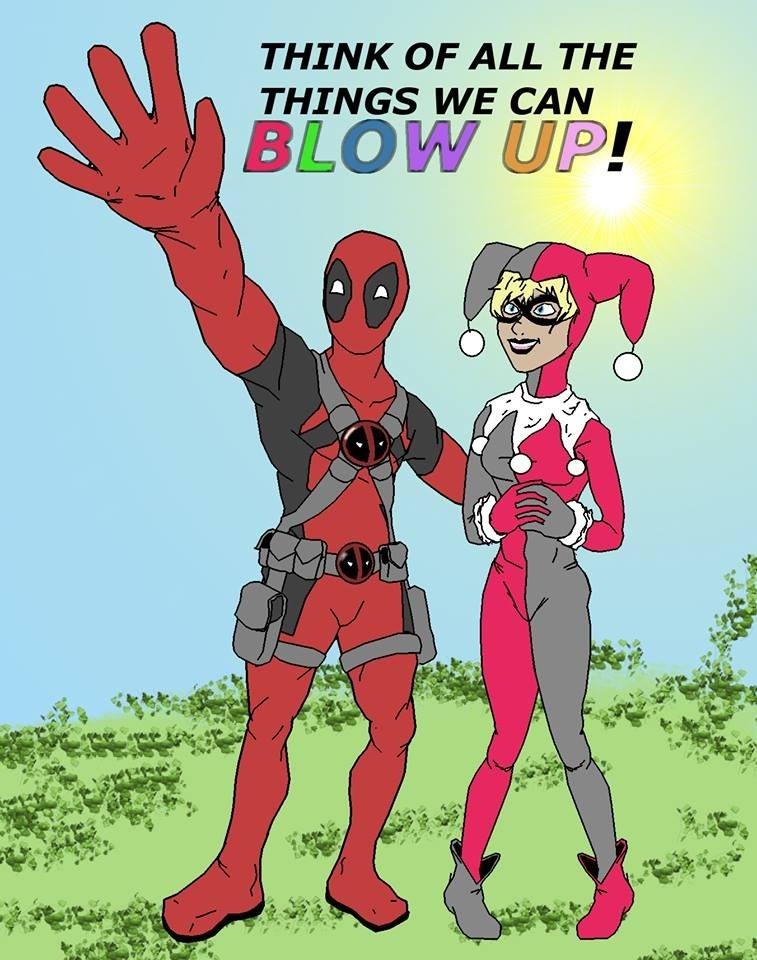 Deadpool x harley quinn by mikester100 on deviantart - Deadpool harley quinn ...