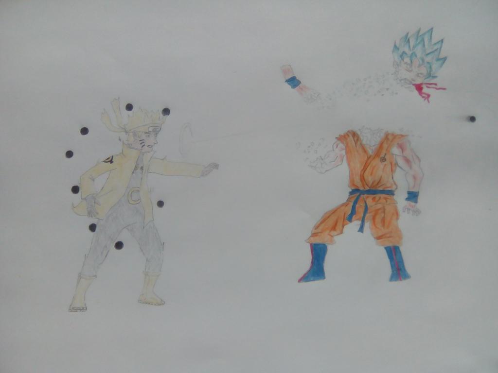 naruto beat goku by TherealLevelZ