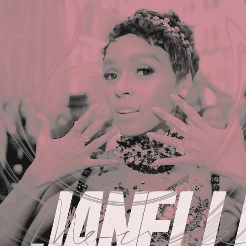 Janelle Monae ( facebook icon i ) by asettico