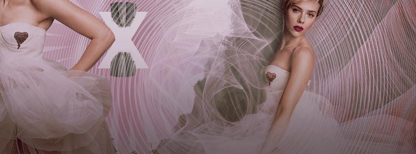 Scarlett Johansson in white ( facebook timeline ) by asettico