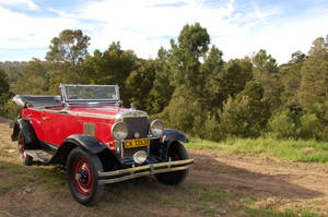 Vintage Car Series - 1 by Storms-Stock
