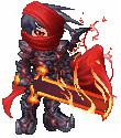 Crimson Knight Gaia by Rblizzo