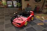 MNR Crimson Knight 77 Kart by Rblizzo
