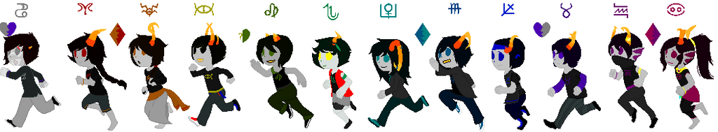 Revamping Troll-kids by Emberelf14