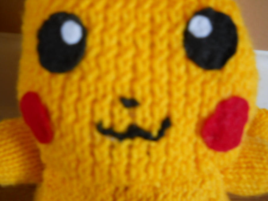 Knitted Pikachu Pattern : Pikachu plushie pattern by SupernaturalGirl1967 on DeviantArt