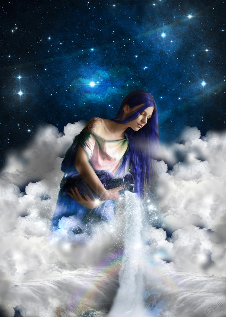 Zodiac - Aquarius by cdka
