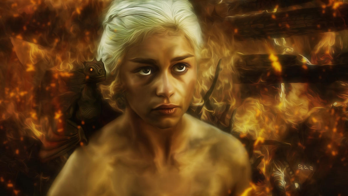 The Mother Of Dragons By Cdka On DeviantArt
