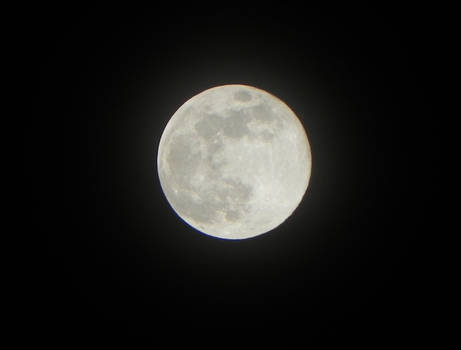 March Supermoon