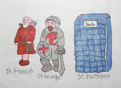 Famous Saints Meme